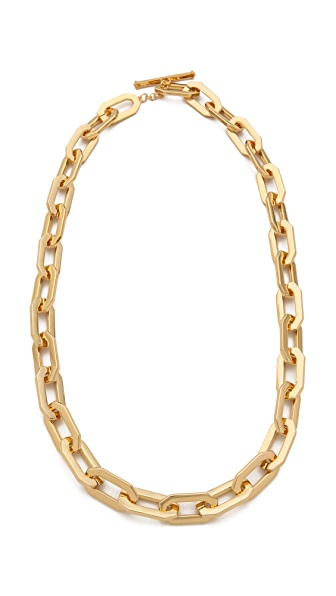 Rachel Zoe Signature Link Necklace