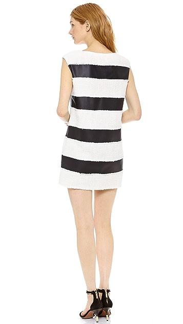 Rachel Zoe Bryant Horizontal Stripe Dress