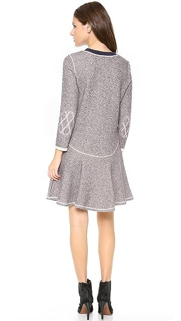 Rachel Zoe Scotty Flounce Dress