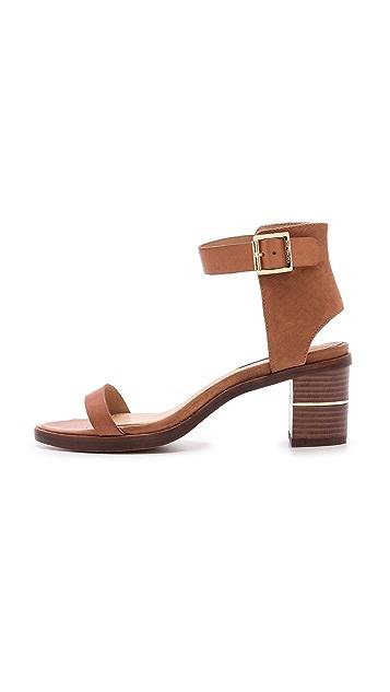 Rachel Zoe Colbie Mid Heel Sandals