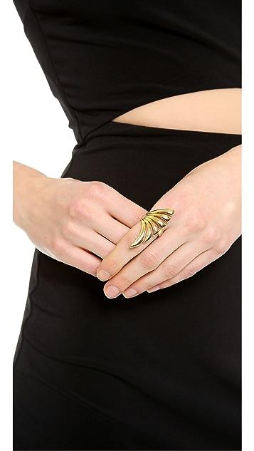 Rachel Zoe Safari Cutout Ring