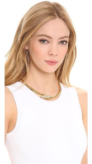 Rachel Zoe Pave Pod Collar Necklace