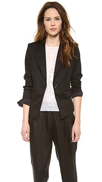 Rachel Zoe Christina Fitted Lapel Blazer