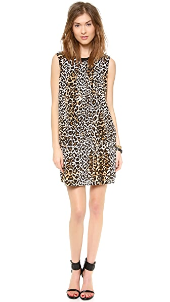 Rachel Zoe Pompei Keyhole Swing Dress