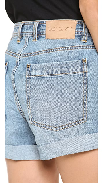 Rachel Zoe Jocelyn Distressed Boyfriend Shorts