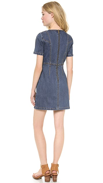 Rachel Zoe Callie Denim Dress