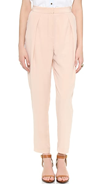 Rachel Zoe Clarke High Waisted Peg Leg Pants