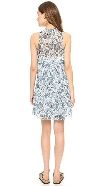 Rachel Zoe Sierra High Low V-Neck Dress
