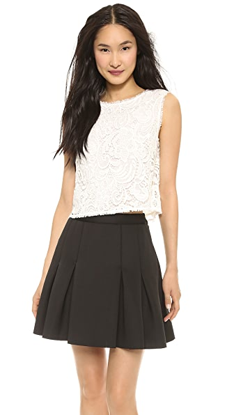 Rachel Zoe Nigel Lace Shell Top