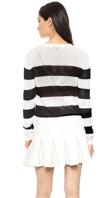 Rachel Zoe Austin Cropped Sweater