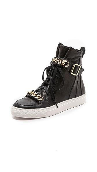 Rachel Zoe Blaine Sneakers with Chain