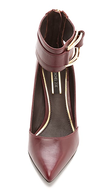 Rachel Zoe Hadley Ankle Strap Pumps