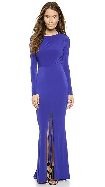 Rachel Zoe Salina Cutout Back Gown