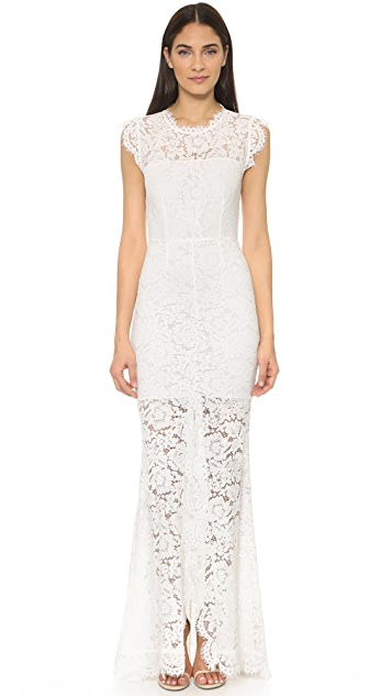 Rachel Zoe Estelle Cutout Maxi Dress | SHOPBOP