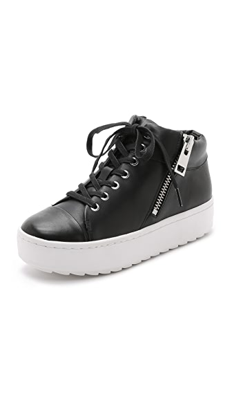 Rachel Zoe Pablo High Top Zip Sneakers