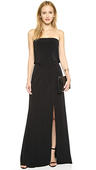 Rachel Zoe Strapless Dress - Black