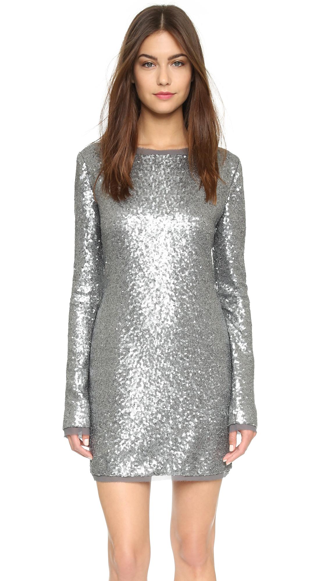 e090bb6bd5dc Rachel Zoe Sequin Mini Dress   SHOPBOP
