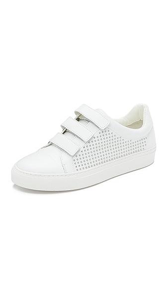 Rachel Zoe Boe Studded Sneakers - White