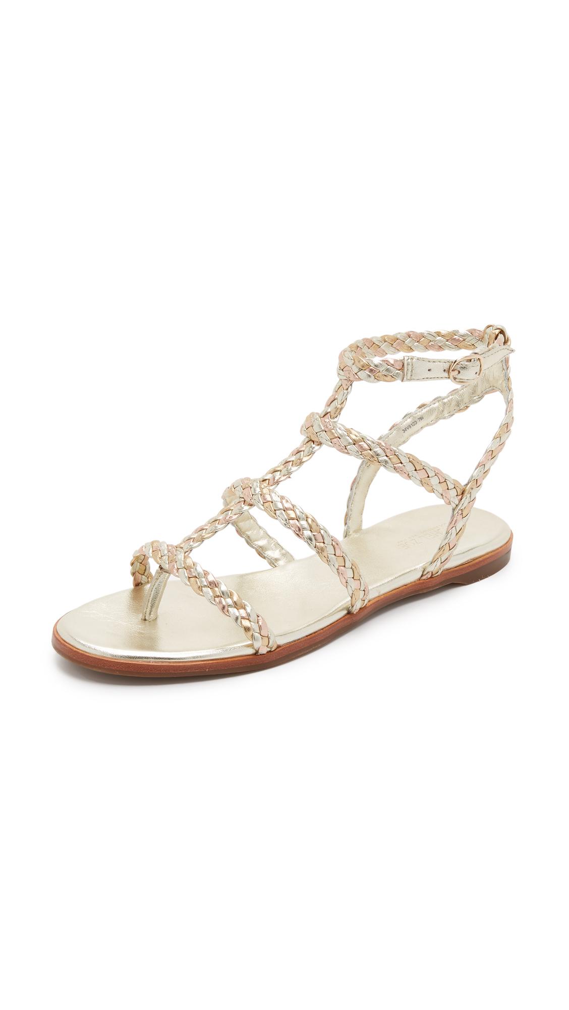 f7a1e4926 Rachel Zoe India Flat Sandals on PopScreen