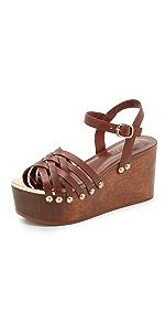 Mae Wedge Sandals                Rachel Zoe