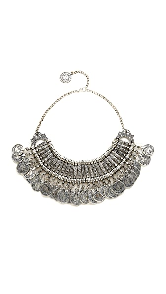 Raga Statement Coin Necklace