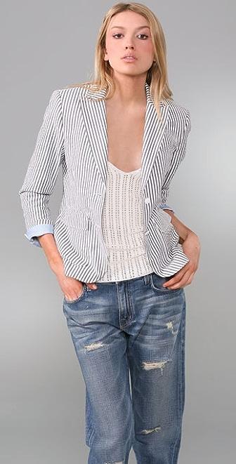 Rag & Bone Nancy Seersucker Blazer