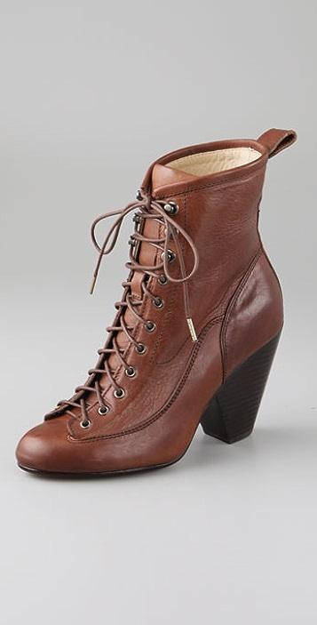 Rag & Bone Lace Up Combat Boots