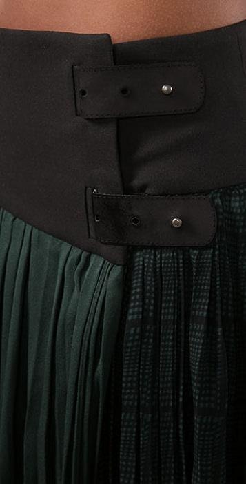 Rag & Bone Penrose Kilt Skirt