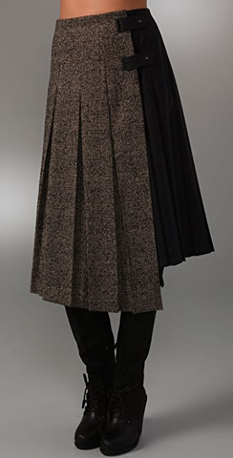 Rag & Bone Abbey Kilt Skirt