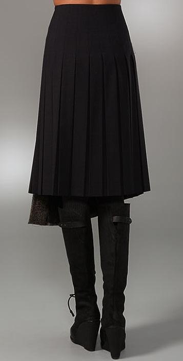 Rag & Bone Abbey Kilt Skirt