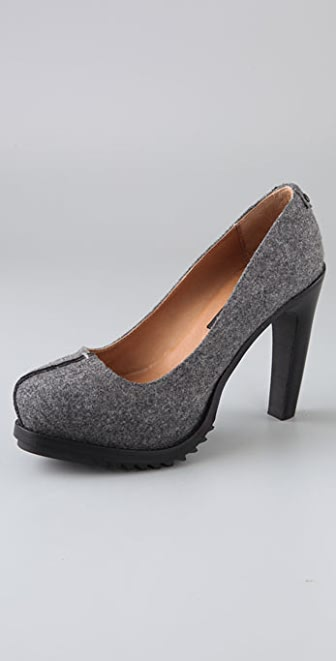 Rag & Bone Raeburn Felt Pumps