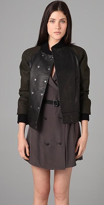 Rag & Bone Varsity Leather Jacket