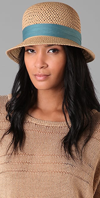 Rag & Bone Short Brim Beach Hat