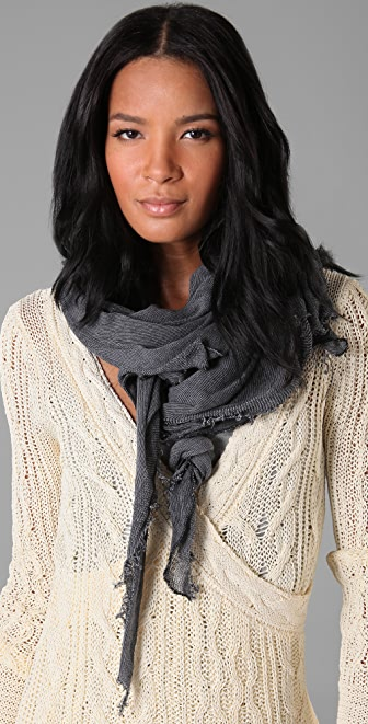 Rag & Bone Raw Edge Scarf