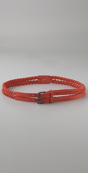 Rag & Bone Double Braid Belt