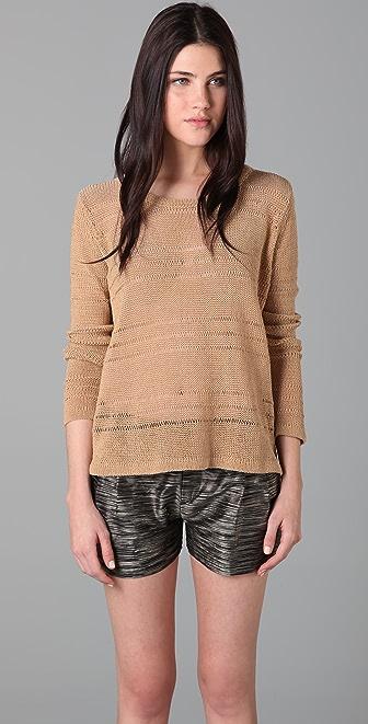 Rag & Bone Holloway Cropped Sweater