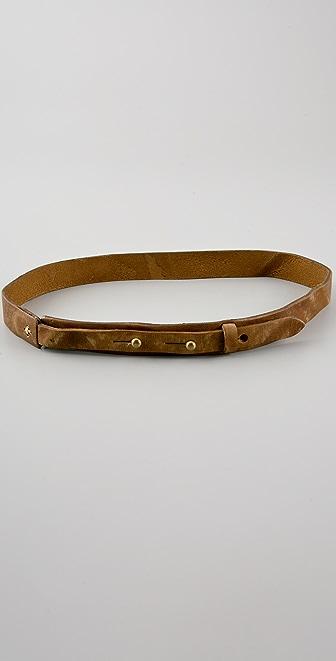 Rag & Bone Skinny Strap Belt