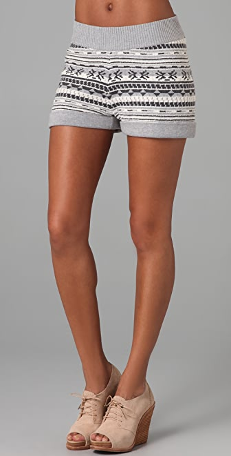 Rag & Bone Suffolk Knit Shorts