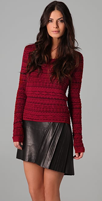 Rag & Bone Bryn Cropped Sweater