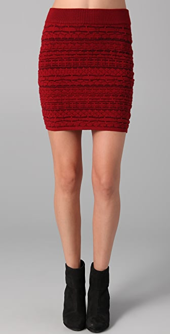 Rag & Bone Bryn Knit Skirt