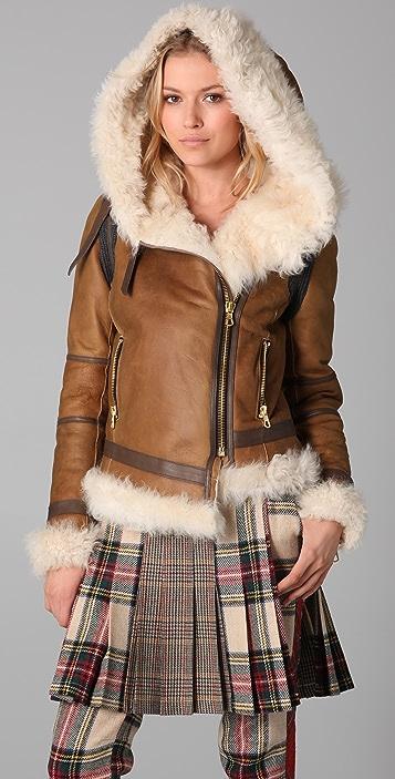 Rag & Bone Shoreditch Shearling Jacket