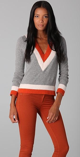 Rag & Bone Dean V Neck Sweater