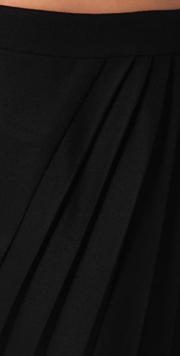 Rag & Bone Marius Skirt with Side Pleats