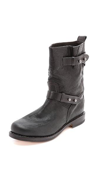 Rag & Bone Moto Boots II - Black