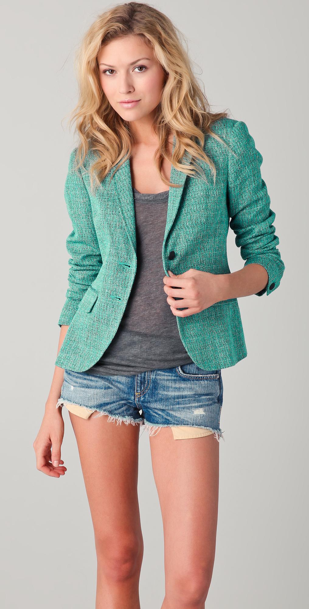 Rag & Bone Bailey Tweed Jacket | SHOPBOP