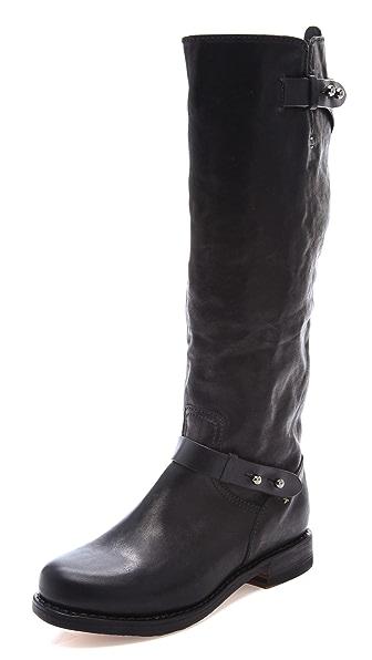 Rag & Bone Knee High Moto Boots