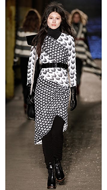 Rag & Bone Rani Arrow Print Dress