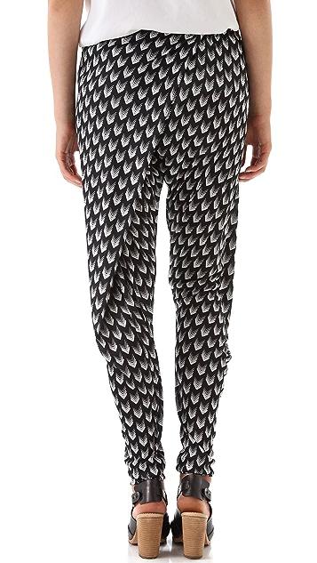 Rag & Bone Rani Print Drop Waist Pants