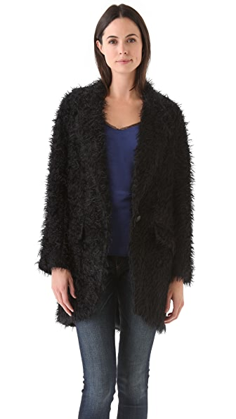 Rag & Bone Black Egg Coat