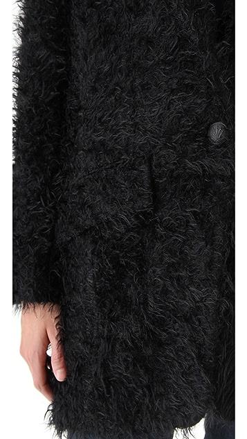 Rag & Bone Black Egg Coat
